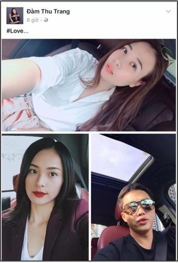 Tin đồn Đàm Thu Trang hẹn hò Cường Đô La nổi lên sau khi cư dân mạng phát hiện chiếc xe hot girl sinh năm 1989 thường xuyên ngồi selfie có nội thất y hệt xế hộp của Cường Đô La, cũng như chiếc siêu xe từng xuất hiện trong ảnh Hạ Vi.