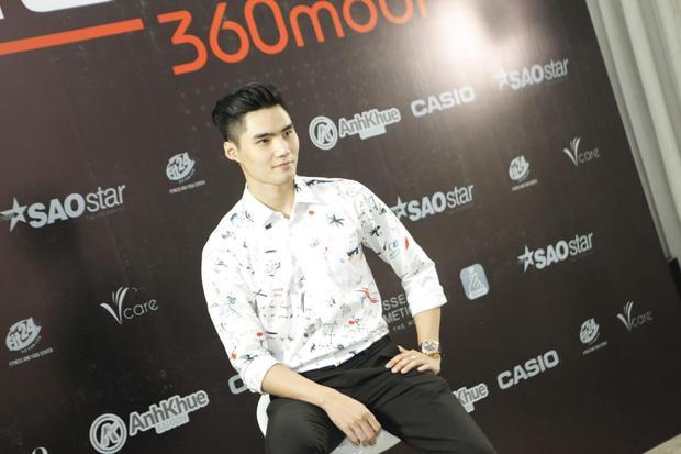 Quang Hùng đẹp trai không góc chết ngồi ghế nóng cuộc thi nhan sắc dành cho Nam giới