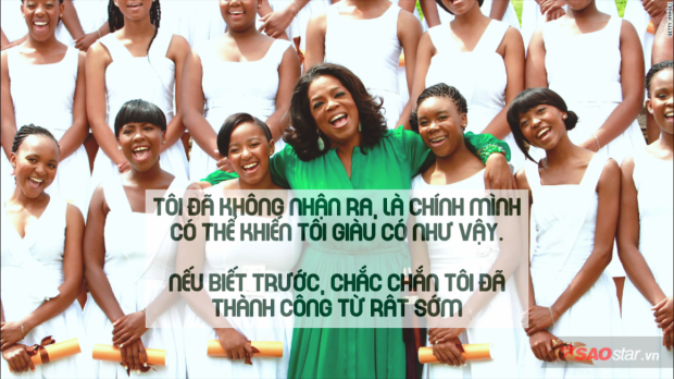 5 bài học khắc cốt ghi tâm của nữ hoàng truyền thông Oprah Winfrey