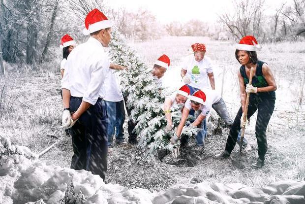 Nghe nói năm nay mùa đông đến sớm, nên chúng ta phải chuẩn bị trang trí đón Giáng sinh từ giờ là vừa.
