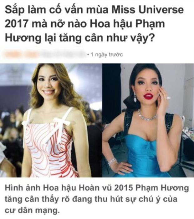 Bị chê không còn 'mình hạc xương mai', Phạm Hương thẳng thừng lên tiếng đáp trả