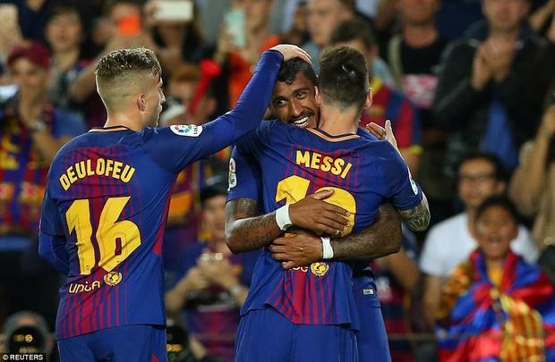 Đây đã là bàn thắng thứ 9 của Messi sau 5 vòng đấu - một hiệu suất khủng khiếp.