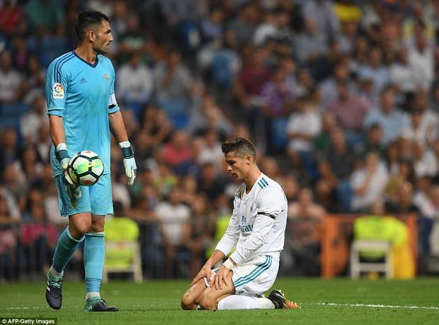 Ronaldo và các đồng đội có một ngày thi đấu tệ hại.