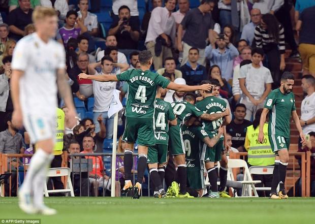 Betis ghi bàn thắng quyết định ở những giây cuối cùng.