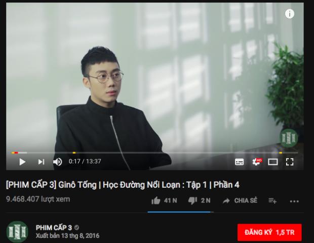 9,4 triệu view và hơn 41 ngàn lượt thích.