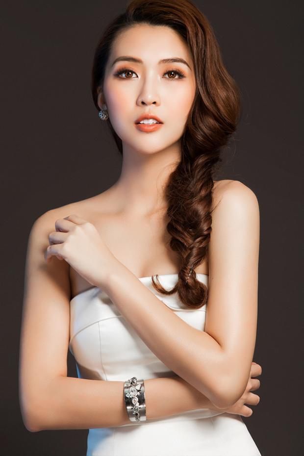 Á quân The Face Tường Linh sẵn sàng chinh phục Hoa hậu Liên lục địa 2017 tại Sri Lanka