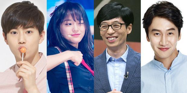 2 nghệ sĩ trẻ góp mặt trong dàn cast là anh chàng trưởng nhóm Suho (EXO) và cô nàng cá tính Se Jung (Gugudan).