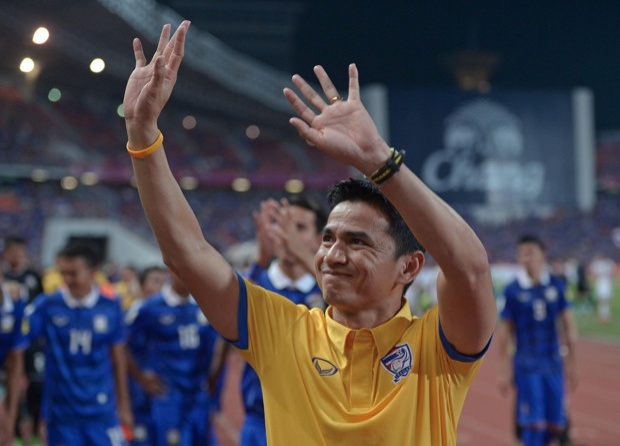 Kiatisak đã gặt hái nhiều thành công cùng tuyển Thái Lan. Ảnh: Getty