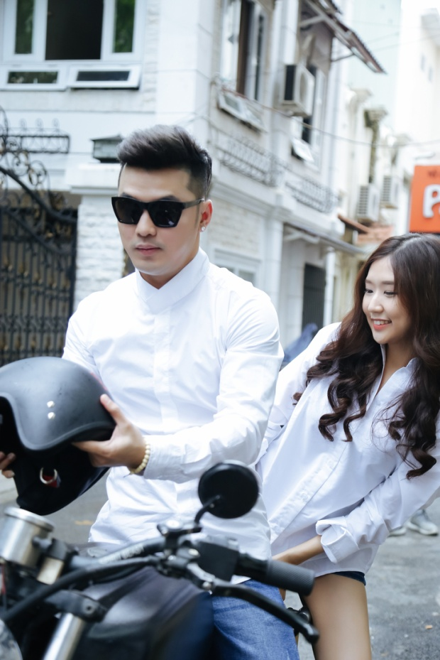 Đảm nhận vai nữ chính trong MV chính là cô gái Hàn Quốc Shin Jin Ju từng gây sốt cộng đồng mạng bởi những clip hát tiếng Việt hay ho.