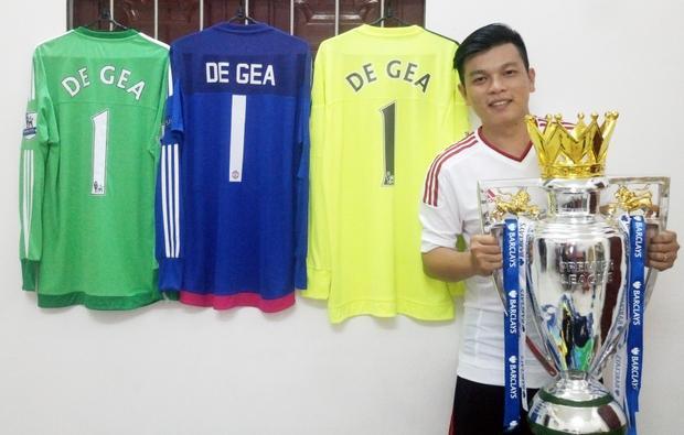Trung hy vọng trong mùa giải mới này, De Gea cùng CLB Manchester United sẽ vô địch Ngoại hạng Anh.
