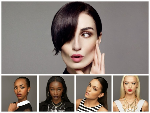 Team Erin O'Connor - The Face Anh 2014.