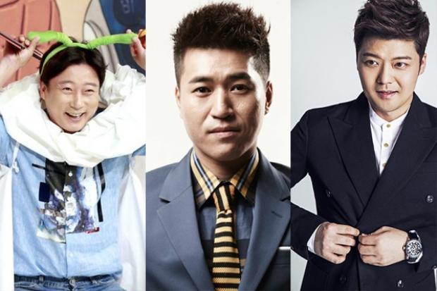 Bộ 3 diễn viên đã quá quen thuộc với các Tv show Hàn.