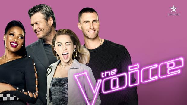Dàn cast mùa 13 của The Voice Mỹ.