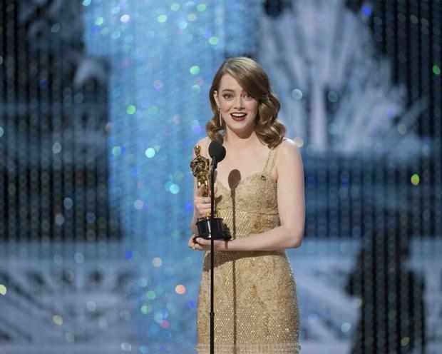 Emma Stone nhận giải Oscar cho hạng mục Nữ diễn viên xuất sắc nhất