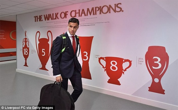 Liverpool quyết giữ Coutinho.