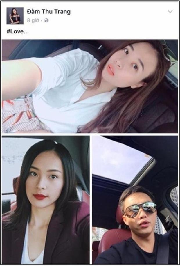 Cường Đô La  Đàm Thu Trang công khai trạng thái Đã đính hôn sau nhiều lần thả thính trên mạng xã hội