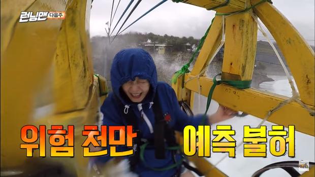 So Min chẳng dám mở mắt trong chuyến đi này.
