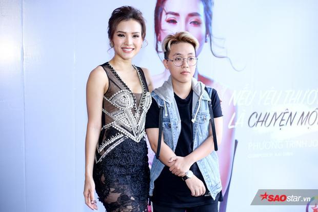 Phương Trinh cùng Kai Đinh.