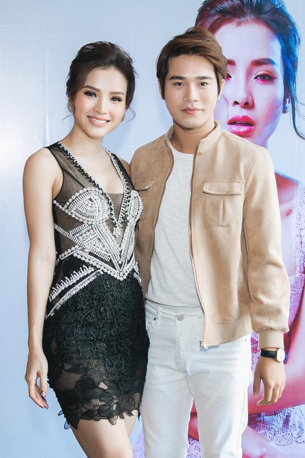 Diễn viên trẻ tuổi Trần Phong và Phương Trinh Jolie.