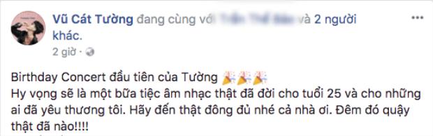Thông tin được chính nữ HLV Giọng hát Việt nhí 2017 chia sẻ khiến khán giả vô cùng phấn khích.