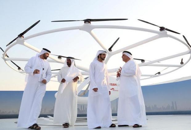 Dubai chuẩn bị có máy bay taxi không người lái