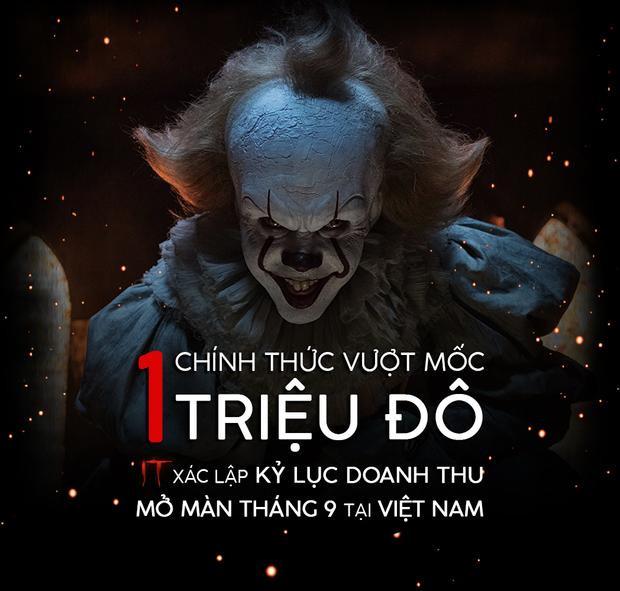 Chú hề ma quái cũng là phim kinh dị có doanh thu mở màn cao nhất tại Việt Nam.