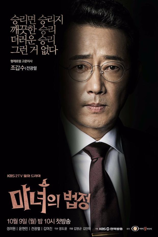 Nam diễn viên Jeon Kwang Leol.