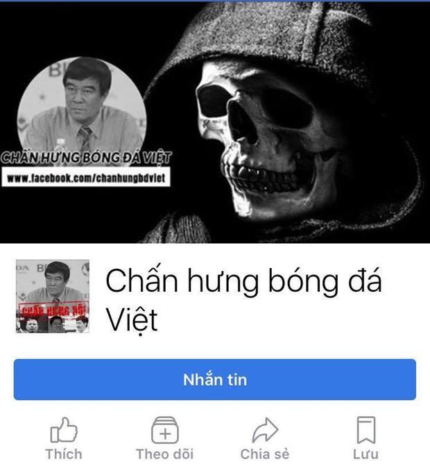 Fanpage chấn hưng bóng đá Việt bất ngờ xuất hiện từ tối hôm qua. Nó đang gây ra hình ảnh xấu xí theo kiểu cố tình phá VFF.