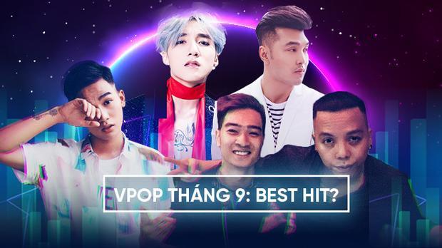Điểm mặt loạt sản phẩm âm nhạc đến từ các sao nam Vpop tháng qua.
