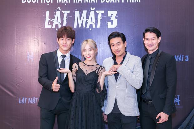 Song Luân, Nene, Kiều Minh Tuấn và Huy Khánh.