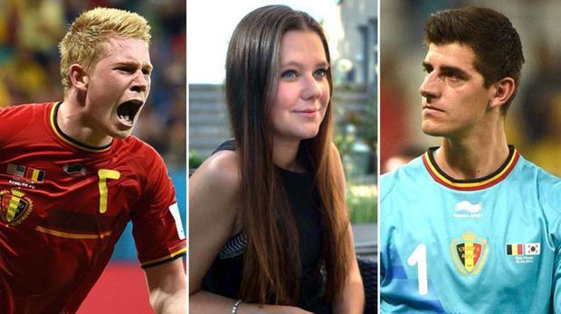 Caroline Lijnen khiến De Bruyne và người đồng đội trên tuyển quốc gia không nhìn mặt nhau.