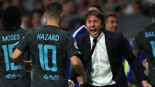 Conte cho rằng Hazard cần quyết đoán hơn khi cần dứt điểm.