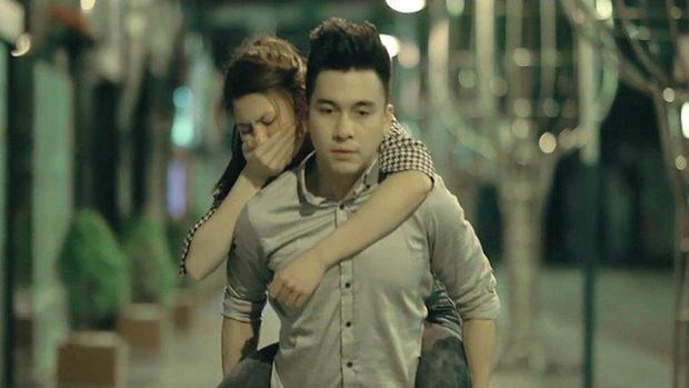 """Lan Anh từng góp mặt trong MV """"Nếu là anh"""" của The Men."""