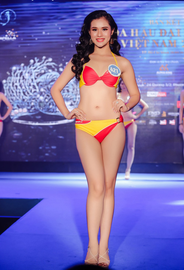 Hậu phát ngôn sốc, thí sinh đi thi Hoa hậu để kiếm nhiều tiền như Phạm Hương bị loại khỏi Miss Universe Vietnam 2017?