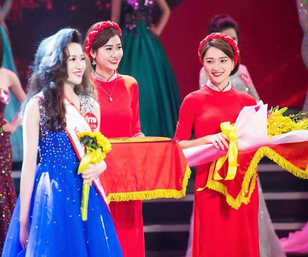Cận cảnh nhan sắc nữ PG từng gây bão mạng xã hội. Cô đang tham gia Hoa hậu Hoàn vũ Việt Nam 2017.