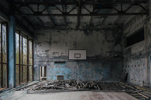 Làng Prypat từng là nơi sinh sống của 50,000 người cho đến khi vụ nổ hạt nhân thảm họa xảy ra vào năm 1986.