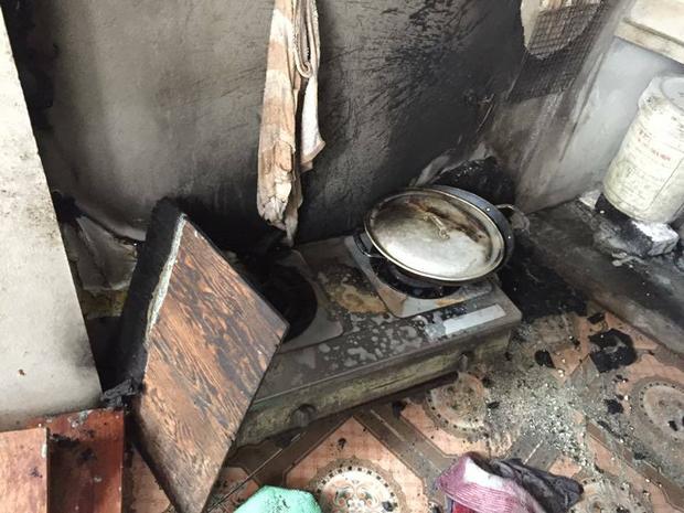 3 người trong gia đình bị bỏng nặng khi đang thay bình gas