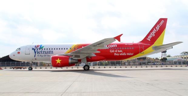 Chiếc máy bay mang số hiệuVJ926 của hãng hàng không VietjetAir đã phải hạ cánh khẩn cấp để kịp thời cứu chữa cho hành khách. (Ảnh minh họa)