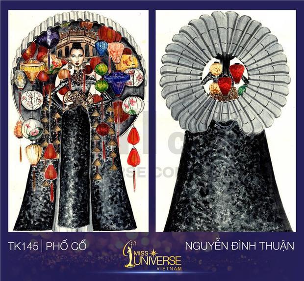 """Thiết kế """"Phố cổ"""" lấy ý tưởng từ Hội An của Nguyễn Đình Thuận."""