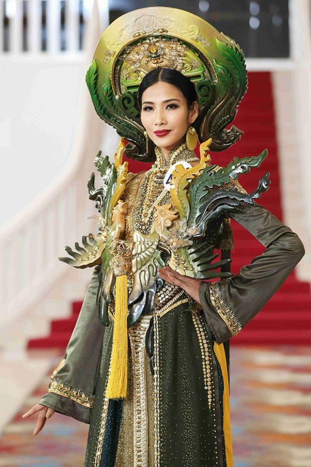 Mặc thông tin vô lễ và coi thường giám khảo, Mai Ngô vẫn thoải mái tập luyện tại Hoa hậu Hoàn vũ Việt Nam