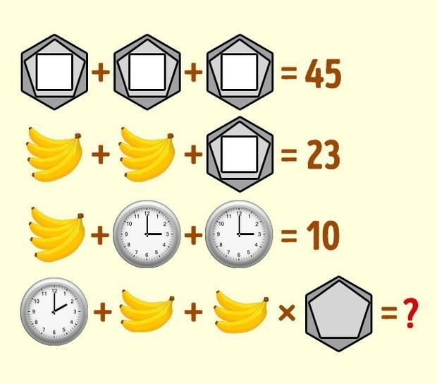 Chỉ có thiên tài mới giải được những câu đố rối não này trong 20 giây