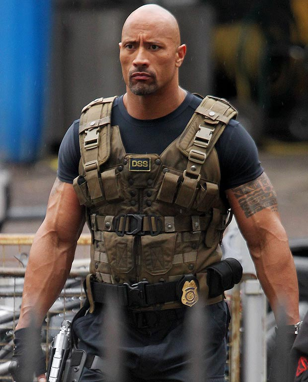 """The Rock"" Dwayne Johnson."
