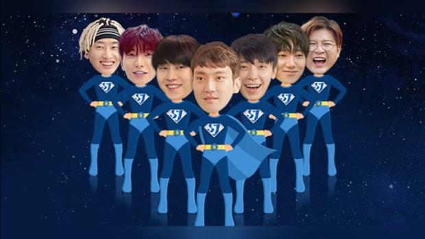 Hình ảnh đáng yêu của Super Junior trong SJ Returns.