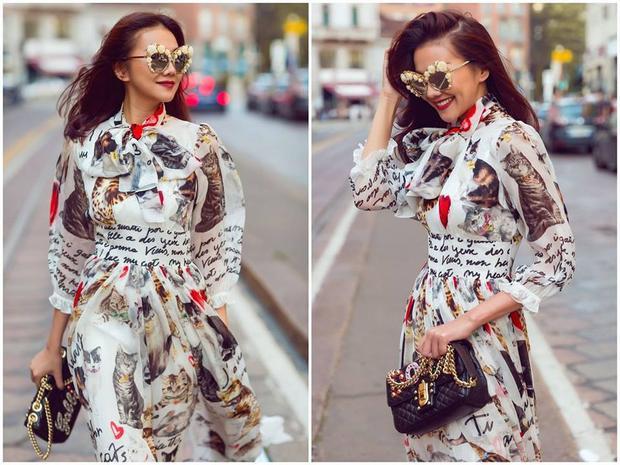 Các tín đồ Việt cho biết, nhìn qua tổng số trang phục mà Thanh Hằng diện tại Milan, họ cảm thấy nể phục trước độ chịu chi của siêu mẫu.