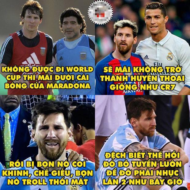 Điều ước nhỏ nhoi của Messi…