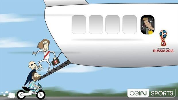 Messi và HLV Sampaoli làm mọi cách để kéo chân Peru khỏi chuyến bay tới Nga vào năm 2018.