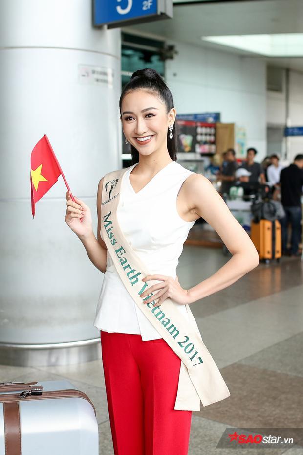 Hà Thu cho biết bản thân đã có sự chuẩn bị khá kỹ lưỡng từ lâu cho Miss Earth năm nay và sẽ quyết tâm thi đấu hết mình.