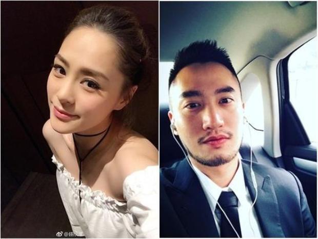 Chung Hân Đồng và bạn trai Lại Hoằng Quốc.