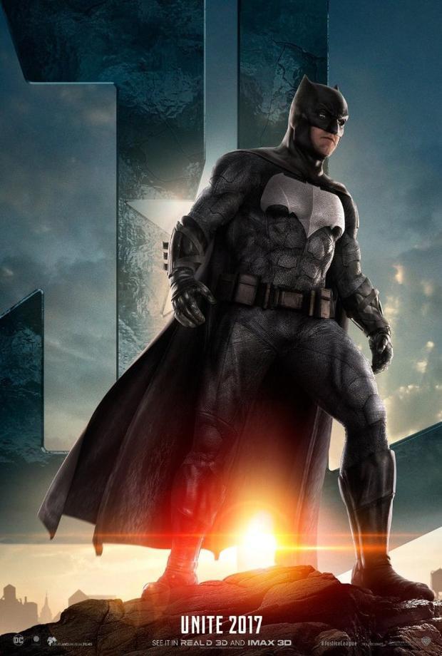 Ben Affleck: Đóng vai Batman trong phim Justice League đã biến giấc mơ thuở bé của tôi thành sự thật