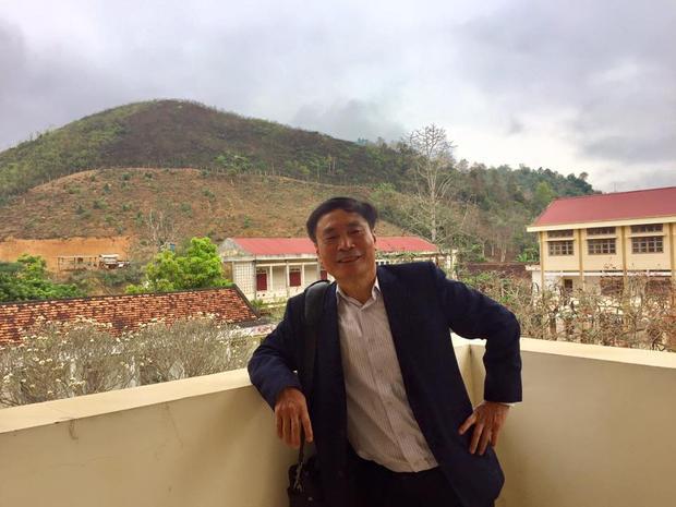 Chân dung thầy Nguyễn Công Khanh.